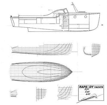 History left side - Line drawing 29 ft. OC
